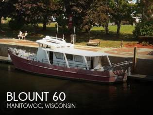 Custom Built Blount 60 Converted Research Vessel