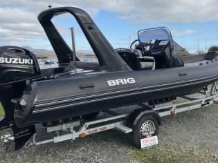 Brig Eagle 650 Carbon Black RIB 2019