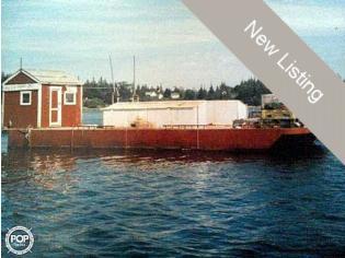 Corten Steel 20' x 52' Barge