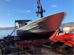 Custom 2t crane boat
